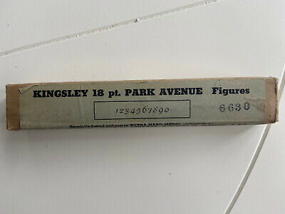 Kingsley Machine Type Park Avenue Hot Foil 18pt Figures