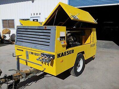 Kaeser M120t Towable Air Compressor 400cfm