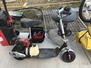 Gas power Scooter $500,  new was $1500