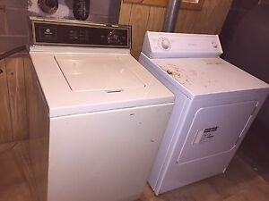 Maytag washer, whirlpool dryer
