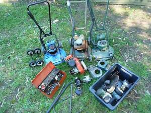 Large lot of vintage Victa mowers Swap or sell Batemans Bay Eurobodalla Area Preview