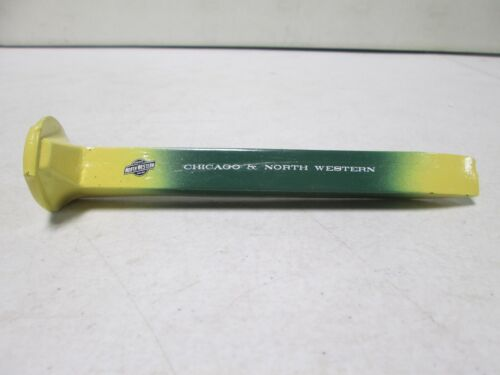 Chicago and North Western Painted Original Railroad Spike (1)