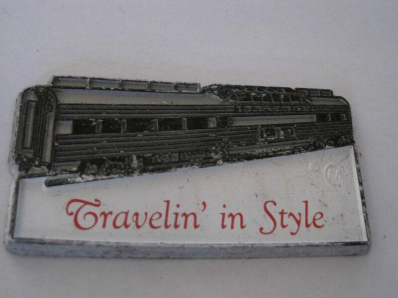 Railroad Magnet- Travelin