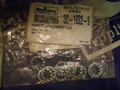 Manitowoc Ice Machine Hinge Lockwasher Package Of 10 Md16 Part 30-1022-9