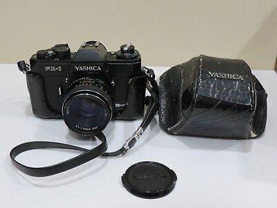 Зеркальные фотоаппараты Rare Vintage YASHICA FX-1