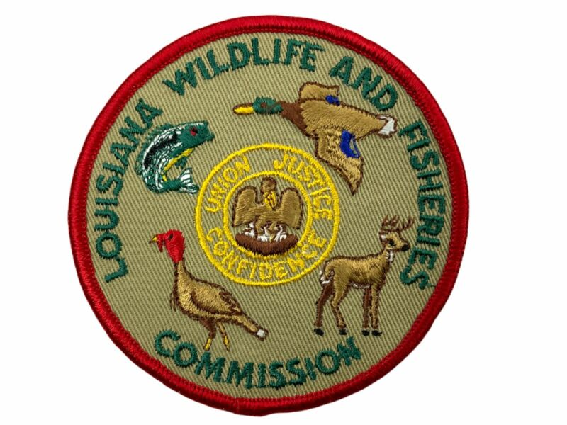 US Louisiana Wildlife & Fisheries Commission Patch