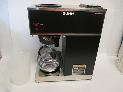Bunn Vpr Pourover Commercial Coffee Brewer 2 Warmers 120v Wdecanter New
