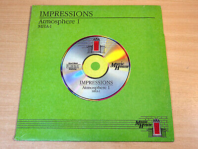 EX !! Impressions : Atmosphere 1/1987 Library Music LP/Alan Hawkshaw