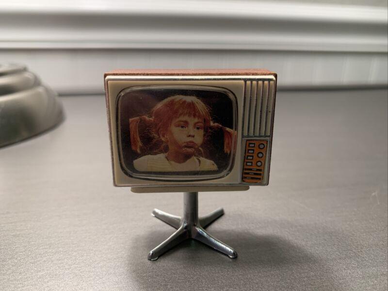 Dollhouse miniature 1:12 scale Mid Century Modern TV retro Vtg MCM Television