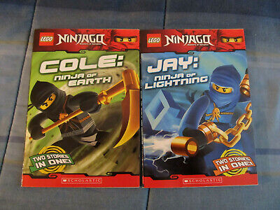 Lego Ninjago Masters of Spinjitsu (2) Cole & Jay Scholastic Books