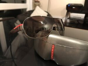 PRADA! Sunglasses gently used original with box!
