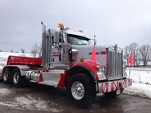 2014 Kenworth Heavy float tractor