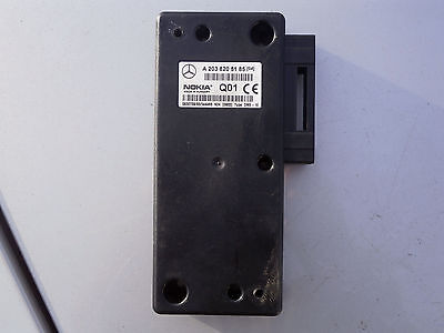 Mercedes W203 R170 W220 W210 Nokia Steuergerät Telefon 2038209926