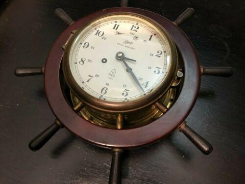 Schatz Royal Mariner  Ship Clock - No Key UNTESTED