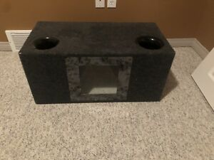 "Dual 10"" Orion Subwoofers w/ box"