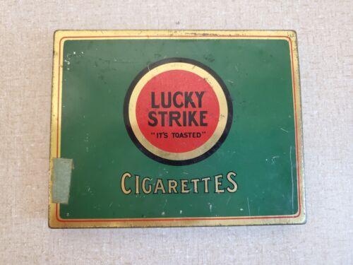 Vintage Lucky Strike Cigarettes Cigarette Box Tin