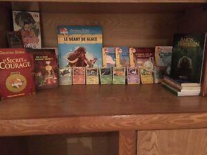 Collection de livres à vendre