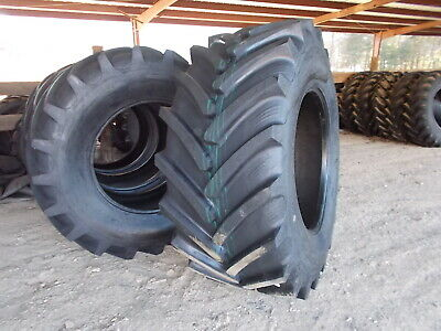 Two New 71070r38 Tractor Tires