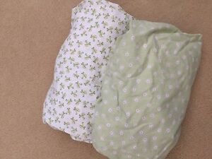 Handmade fitted crib sheets