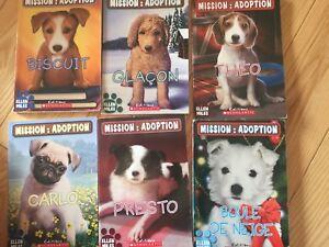 Livres français pour enfants - Mission: adoption