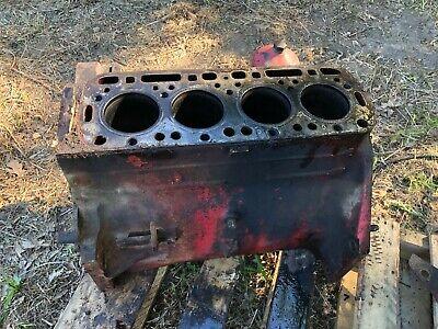 Ih Farmall 340 Row Crop Engine Block From Running Tractor