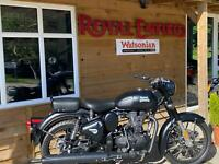 Royal Enfield Bullet Classic Stealth Black Limited Edition