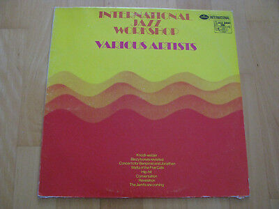 International Jazz Workshop Doldinger Mangelsdorff Bailey Netherlands 1964 Vinyl