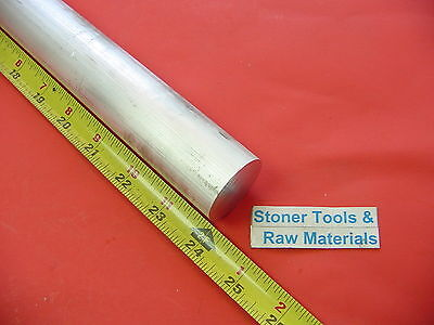 1-12 Aluminum 6061 Round Rod 24 Long T6511 Solid Extruded Lathe Bar Stock New