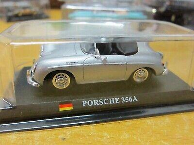 delPrado - Scale 1/43 - PORSCHE 356A - Silver - Mini Toy Car