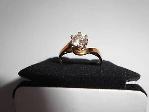 Lovely 18ct Yellow Gold 1/2 carat (0.50ct) Diamond Solitare Ring Ferny Hills Brisbane North West Preview