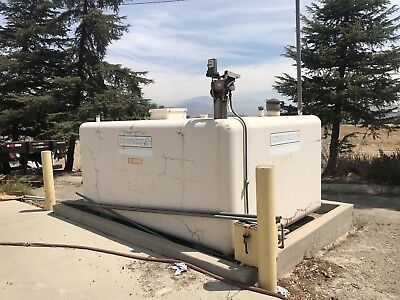 Supervault Concrete Above Ground Diesel Fuel Storage Tank2000 Gallon Capacity