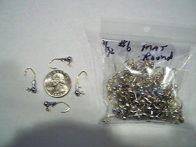 1//8oz #1//0 ROUND BARB LEAD HEAD MATZUO SICKLE GOLD 100ct