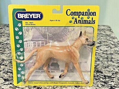 Breyer Companion Animal Fawn Great Dane Dog Figurine Retired No.1541 NRFB