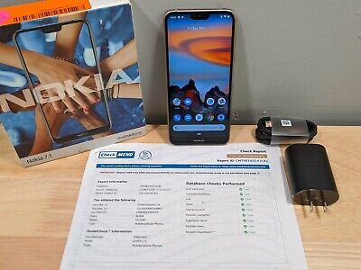 Factory Unlocked Nokia 7.1 64GB - Steel