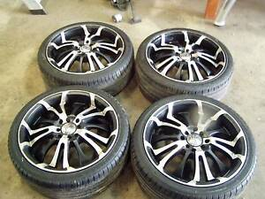 4 STUD MULTI FIT 17 INCH MAG WHEELS 100mm 114.3mm OSAKA RACING Lonsdale Morphett Vale Area Preview