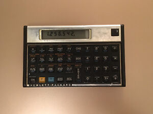 Vintage HP 12C Calculator