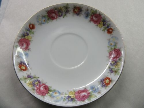 "Vintage Cherry China Occupied Japan Saucer 5 1/2"" REPLACEMENT"