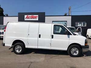 2018 GMC Savana 2500 6.0LV8!! fin or lease from 5.99%oac