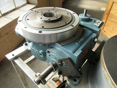 Camco Emerson 601rdm8h24-270 Rotary Table Indexer Drive With Baldor Dc Motor