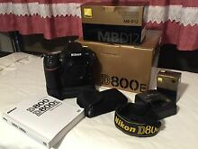 Nikon D800E with MB-D12 Battery Grip in Excellent Condition Lara Outer Geelong Preview