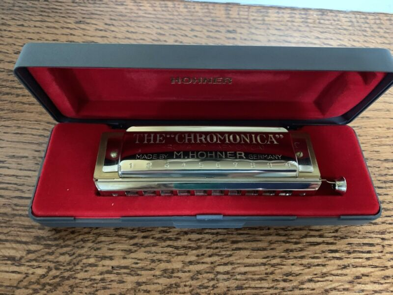 Hohner Chromonica 260 Vintage New W/ Instructions Original Box