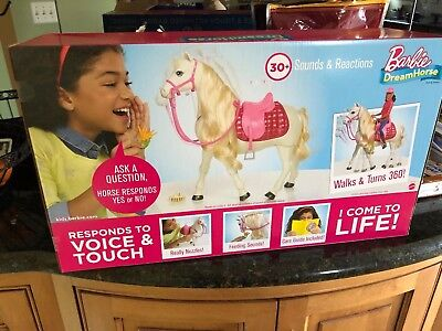 New Barbie and her DreamHorse - Red/Pink/White (African American/Black Doll) Set