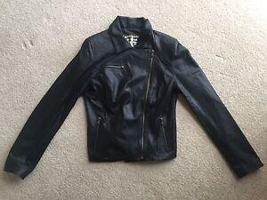 Italian leather jacket women's Size Medium North Turramurra Ku-ring-gai Area Preview