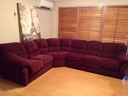 L shape 6 seaters lounge