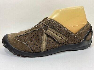 Privo Clarks Brown Suede Walking Shoes Sz 8M