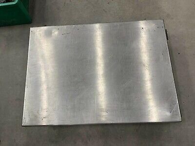 Mettler-toledo Model Bmi-1000 1000kg Stainless Steel Floor Scale