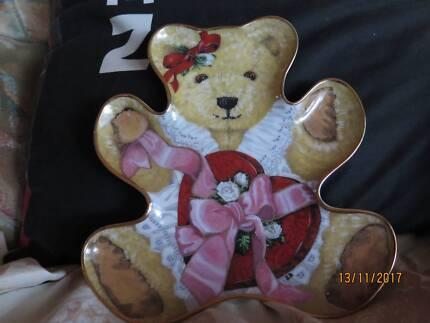 Franklin Mint teddybear plate