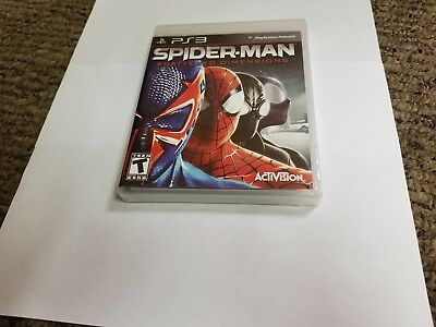Spider-Man Shattered Dimensions (Sony PlayStation 3, 2010) new sealed ps3