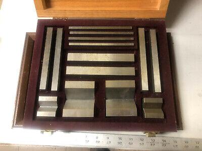 Machinist Tools Lathe Mill Nice Rare Set Of Anton Grinding Blocks Ofce Frbk