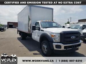 2011 Ford F-550 16Ft + Lift Gate 6.7L V8 Diesel
